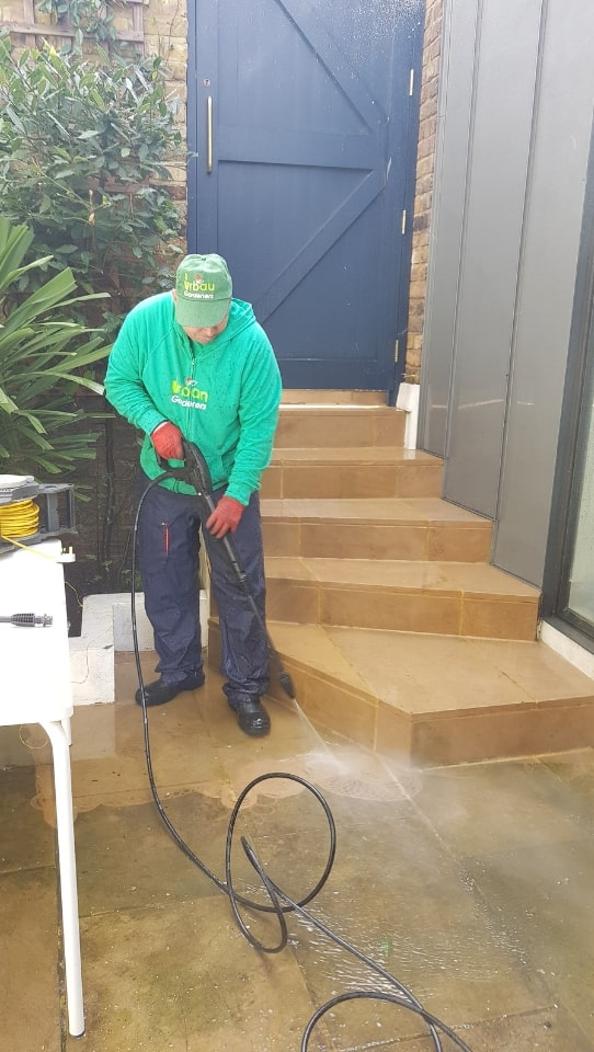 Patio Cleaning in South London