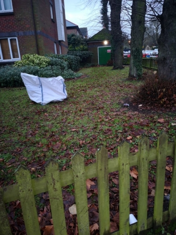 Autumn Leaf Clearance in South London