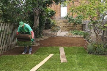 turfing services in South London