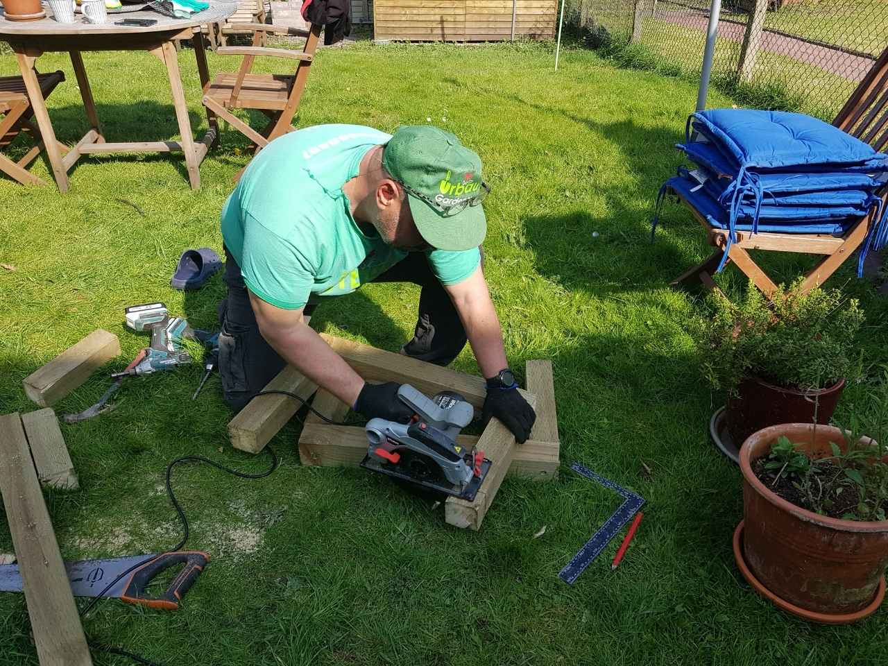 decking services South London
