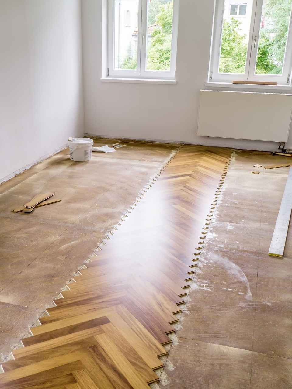 parquet floor fitting services South East London